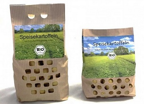 CartoPaper is the sustainable potato packaging for large